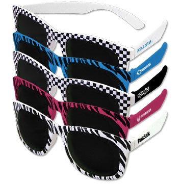 Chillin' Checker Sunglasses