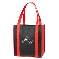 Color Combination Non Woven Grocery Tote Bag