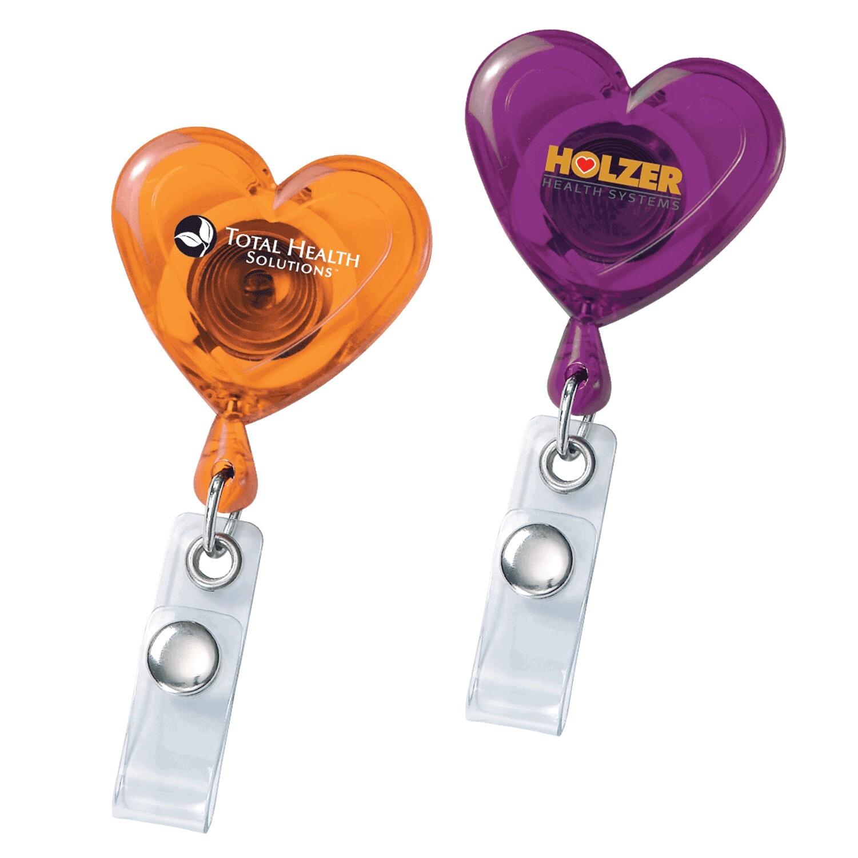Heart Secure-a-Badge Reel