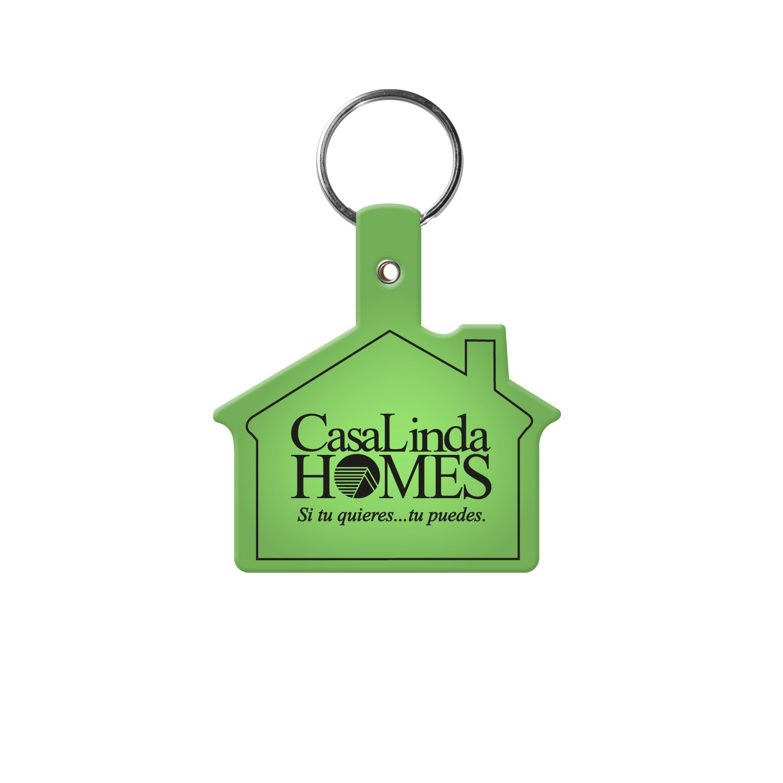 House Flexible Key Tag