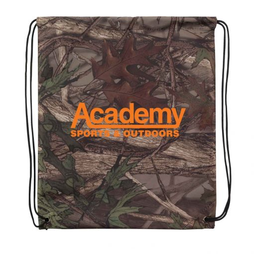 Outdoor Camo Drawstring Backpack