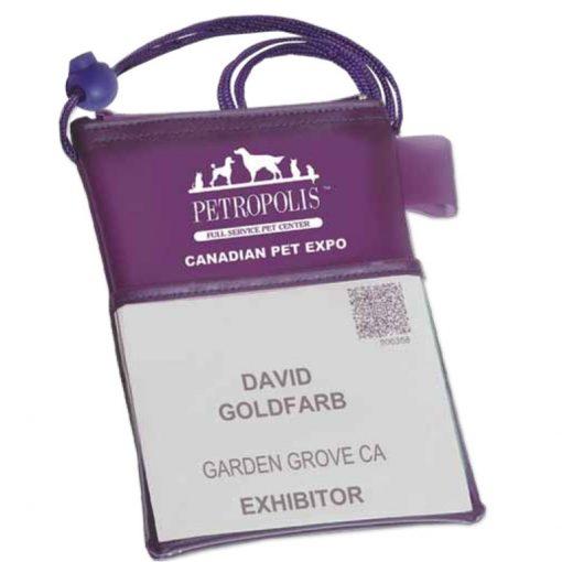 Trade Show Badge Holder