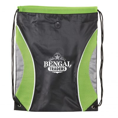Pinnacle Mesh Drawstring Backpack