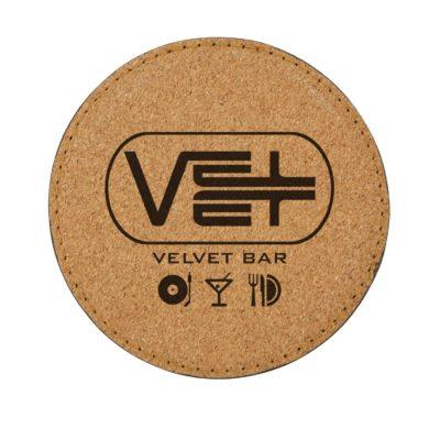 Cork'n Velvet Coaster