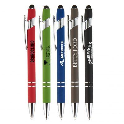 Granada Velvet-Touch Aluminum Stylus Pen