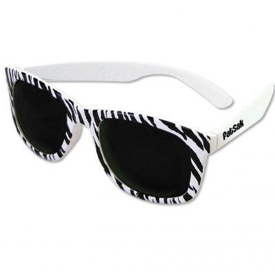 Chillin' Zebra Sunglasses-Closeout