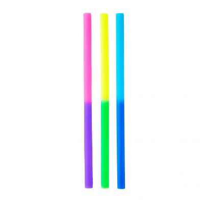 1155 Reuse-it™ Mood Silicone Straw in Round Case
