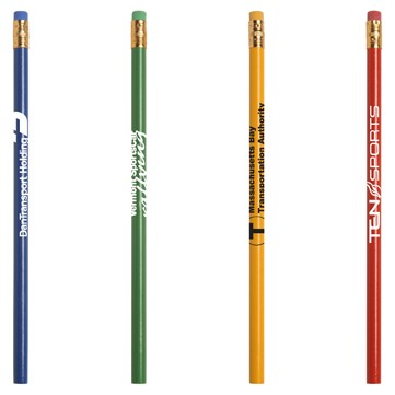 Jo-Bee Recycled Newspaper Pencil w/Matching Eraser