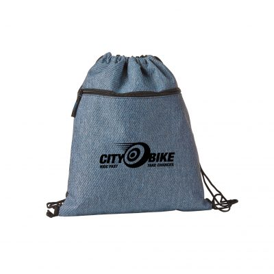 Twill Drawstring Backpack-Coming Soon