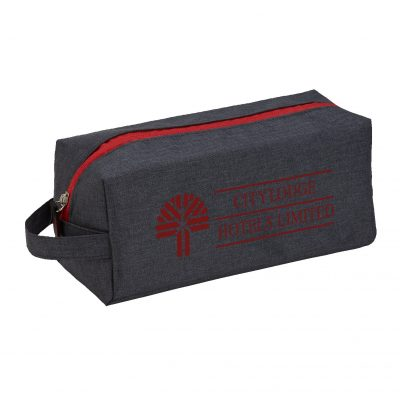 Heathered Dopp Kit Toiletry Bag