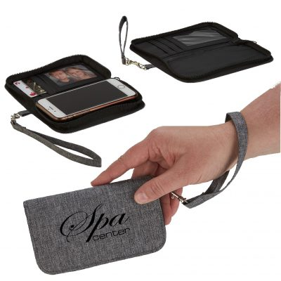 Heathered On-The-Go Wallet