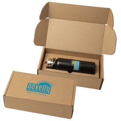 21 Oz. Breckenridge Stainless Steel Bottle w/Gift Box