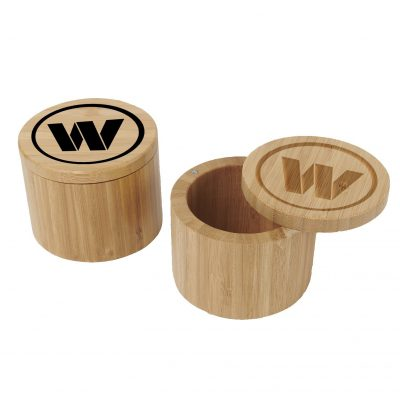 Bamboo Slide-Lid Box