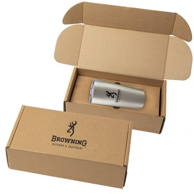 20 Oz. Everest Stainless Steel Tumbler w/Gift Box