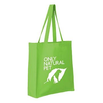 11.5 Oz. Cotton Canvas Grocery Tote Bag