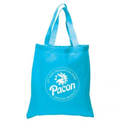 5.5 Oz. Economy Cotton Canvas Tote Bag