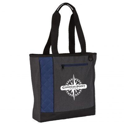Mod Zippered Tote Bag