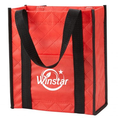 Quilted Non-Woven Gift Tote Bag