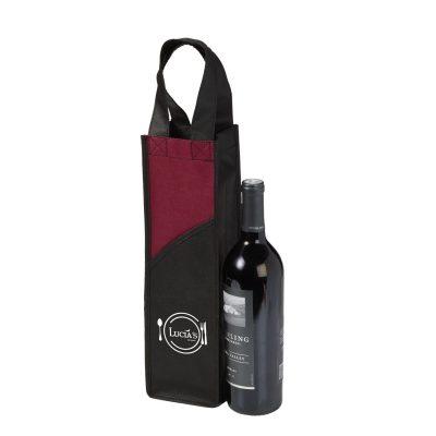 Sedona Non-Woven Wine Tote Bag