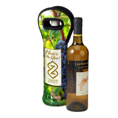 Sublimated Neoprene Wine Holder
